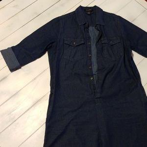 Blue Jean Dress szM